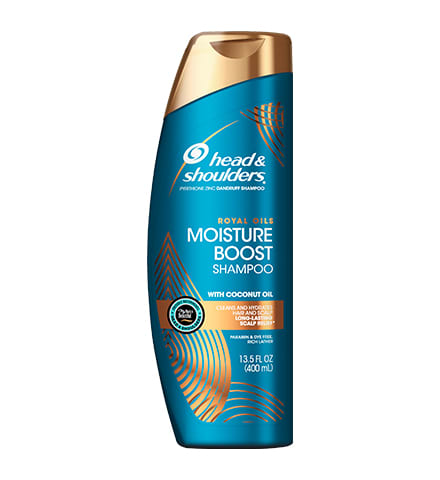 Head & Shoulders Royal Moisture Boost Shampoo (13.5 oz)