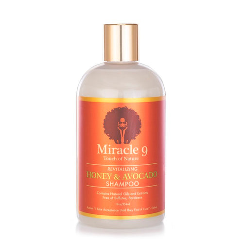 Miracle 9 Revitalizing Honey & Avocado Shampoo (12 oz.)