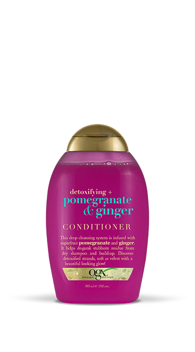Detoxifying + Pomegranate & Ginger Conditioner (13 oz)