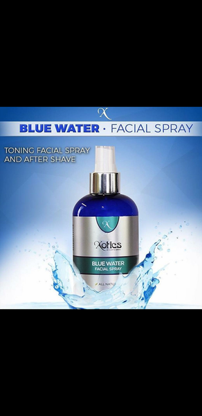 Xotics Blue Water Facial Spray After Shave (4 oz.)