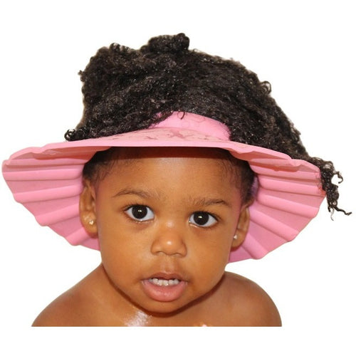 Pink Wash Cap on toddler