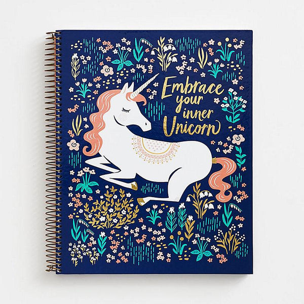 Inner Unicorn Spiral Notebook