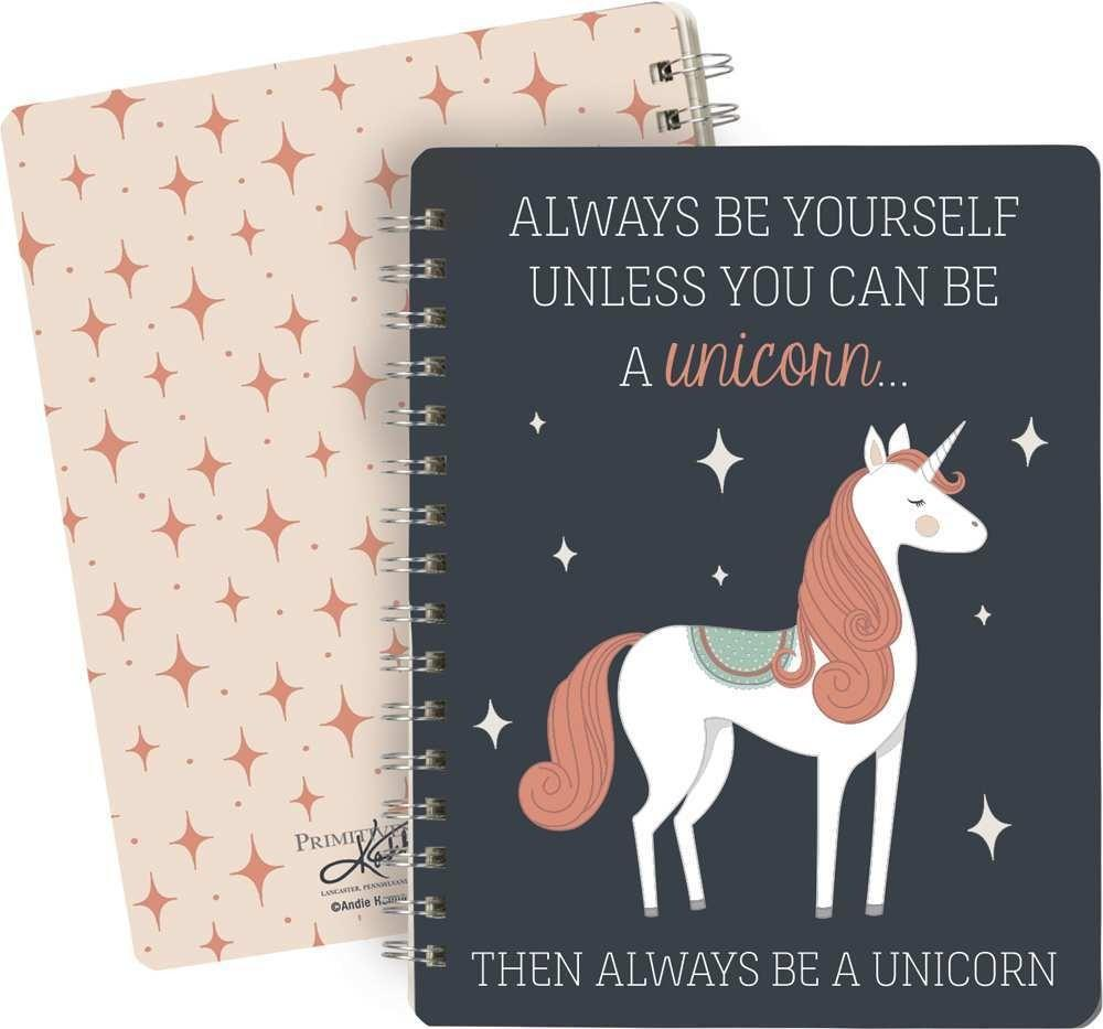 Always Be A Unicorn Spiral Notebook - the unicorn store