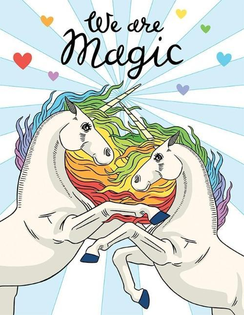 Unicorns We Are Magic - Any Occasion Card