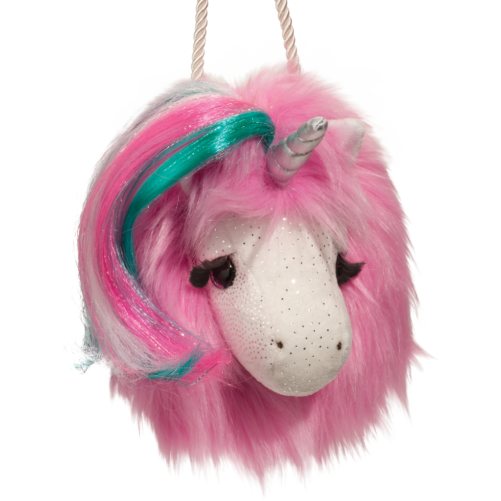 Unicorn Fur Fuzzle Crossbody Purse