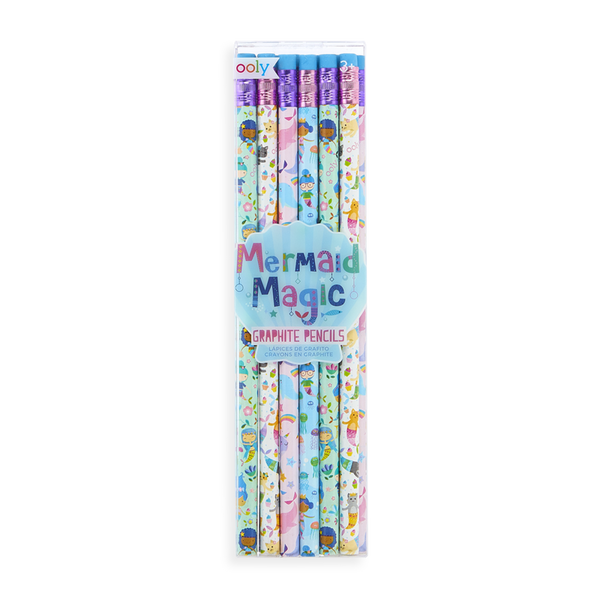 Mermaid Magic Pencils - Set of 12
