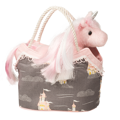 Dream Castle Princess Sak With Pink Unicorn