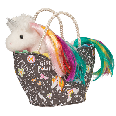 Girl Power Princess Sak With Rainbow Unicorn - the unicorn store