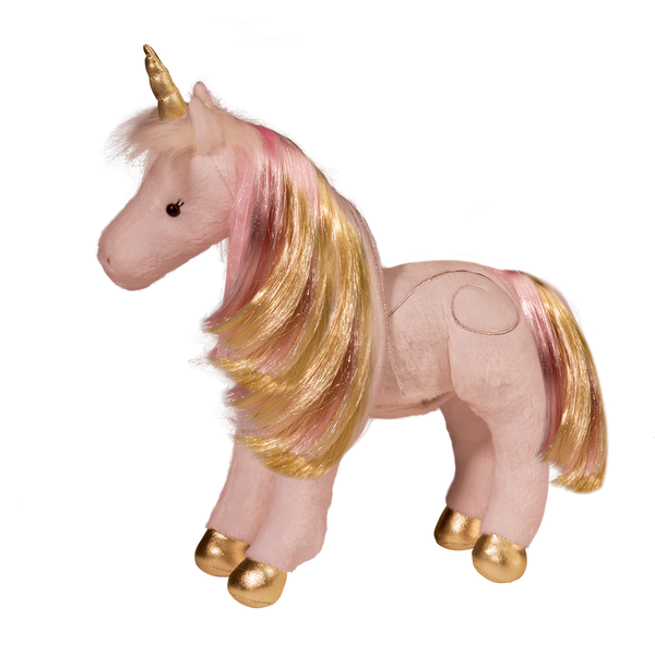 Pink Plush Unicorn with a lighted heart and magical sounds - the unicorn store