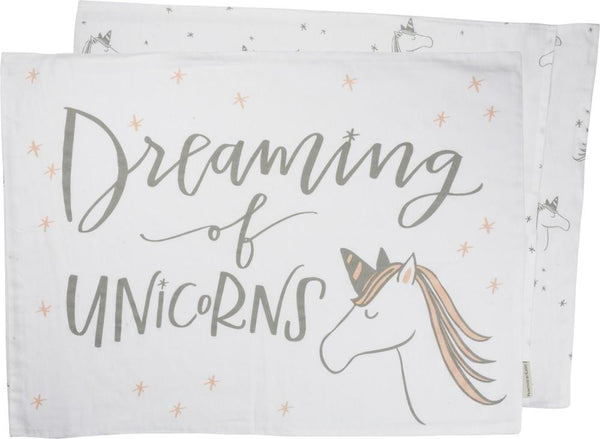 Dreaming Of Unicorns - Pillow Case