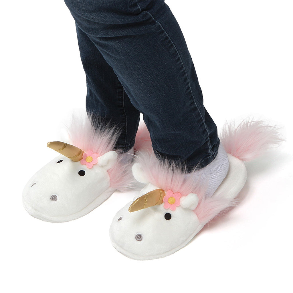 Lily Rose Unicorn Slippers