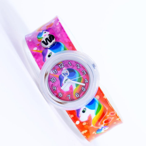 Rainbow Unicorns Slap Watch
