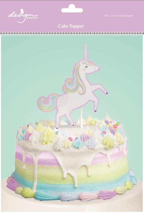 Fantastical Birthday Cake Topper - the unicorn store