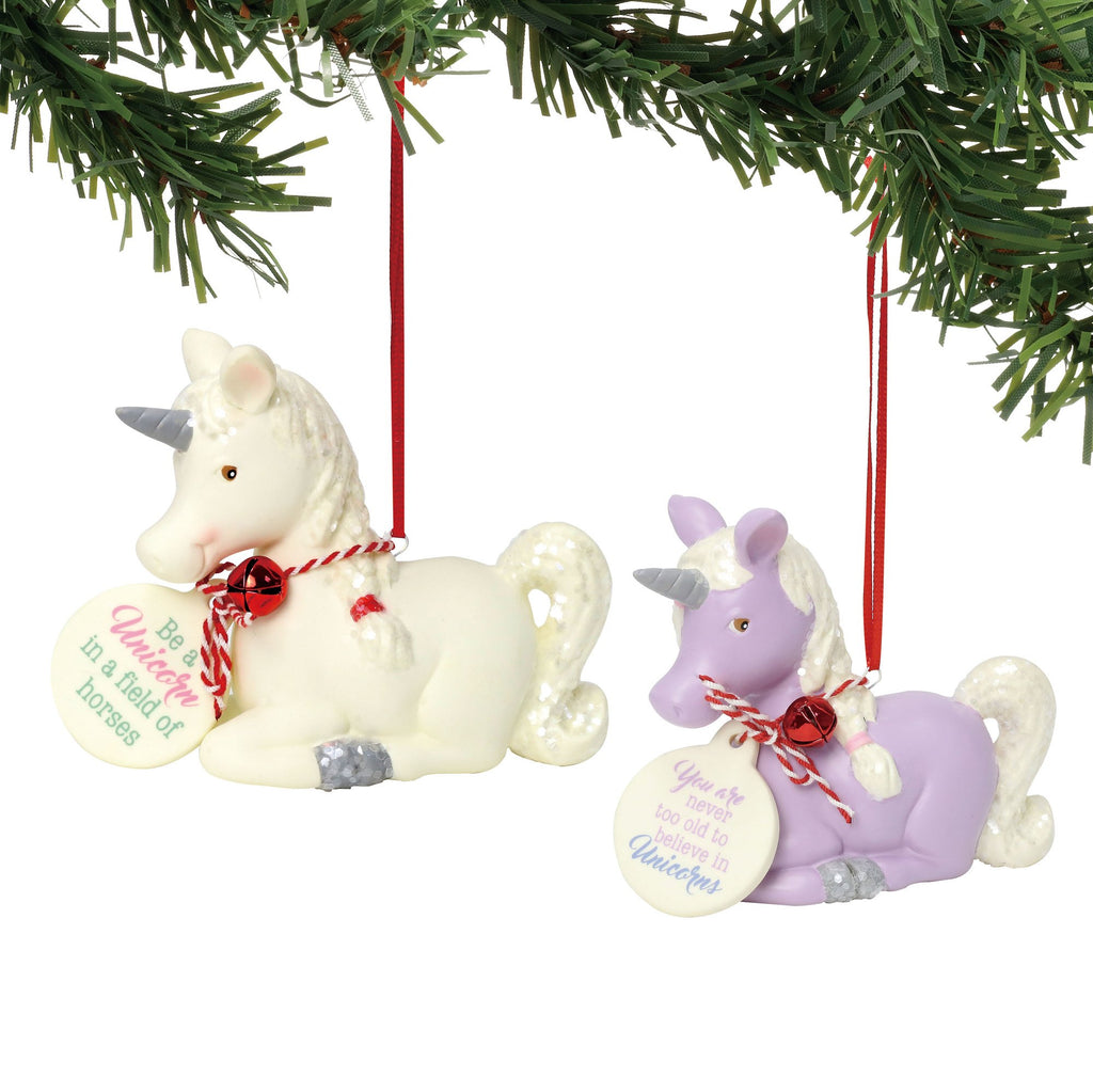 Sitting Unicorn Ornament