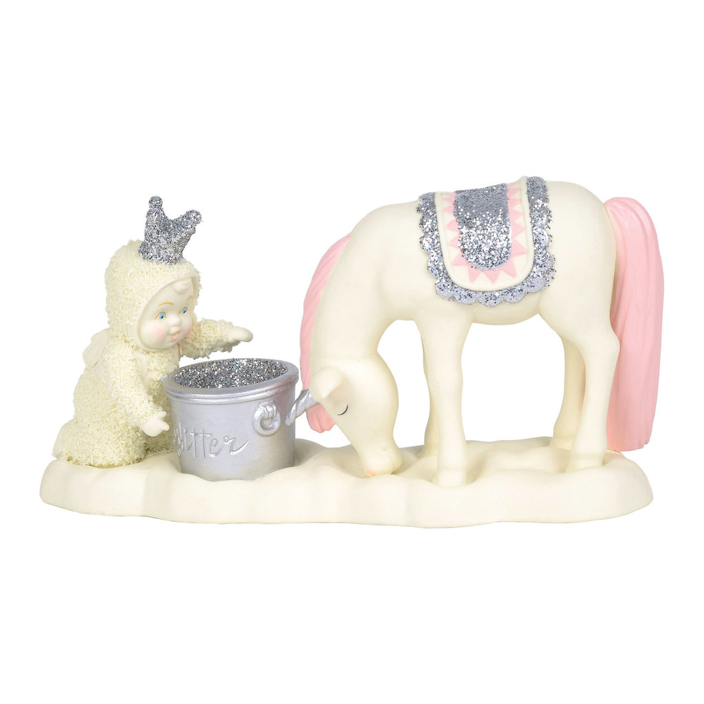 "Snowbabies ""Just Add Sparkle"" Unicorn"