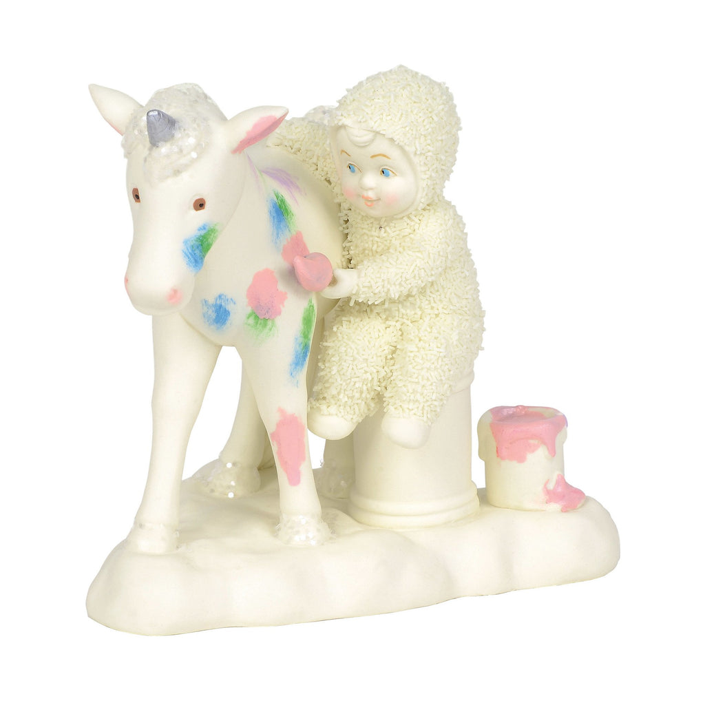 "Snowbabies ""The Unicorn Made Me Do It"""