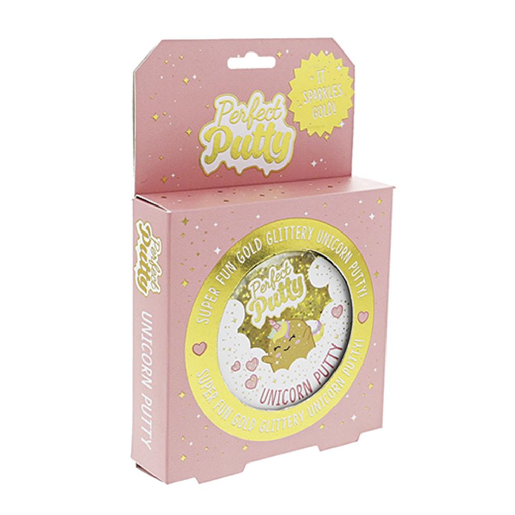 Unicorn Gold Glitter Putty