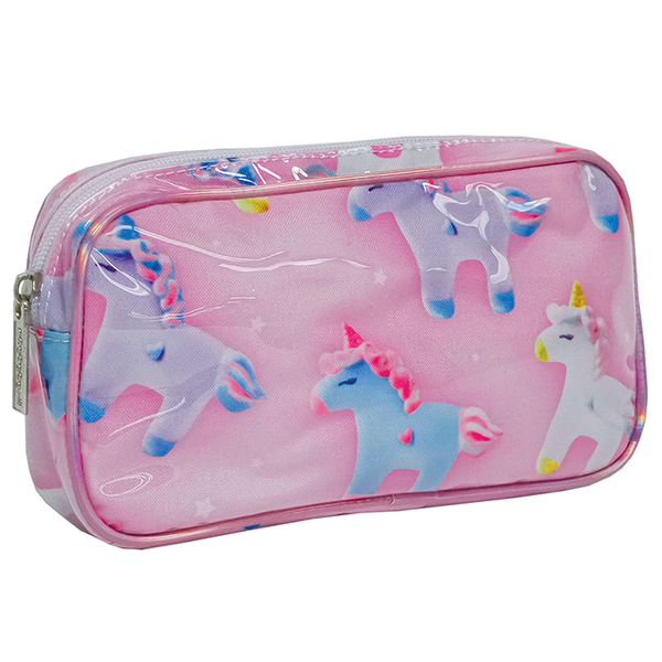 Unicorns And Stars Small Cosmetic Case