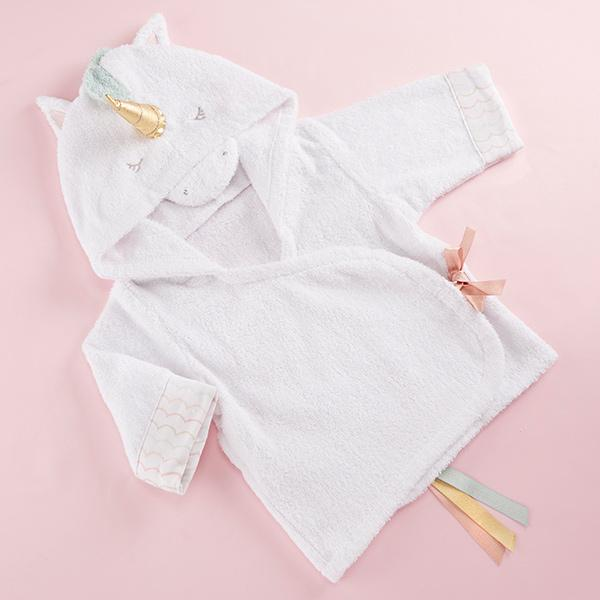 Unicorn Hooded Spa Robe - Baby