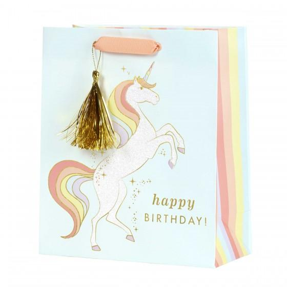 Unicorn Happy Birthday Gift Bag
