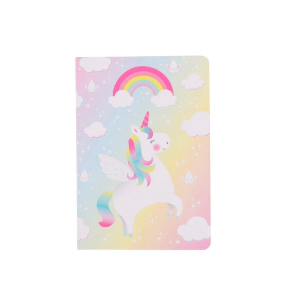 Rainbow Unicorn Pocket Notebook - the unicorn store