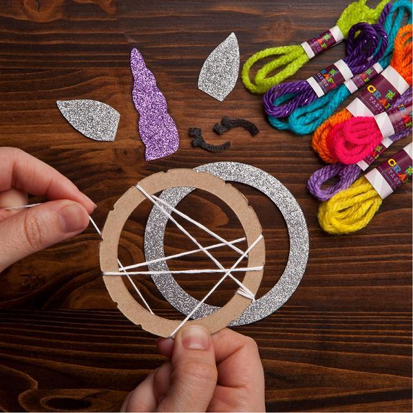 Unicorn Mini Dream Catcher Craft Kit