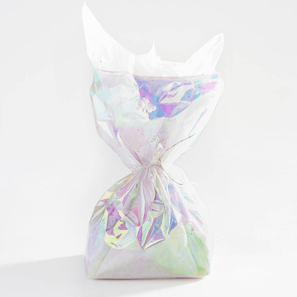 Unicorn Iridescent Cello Treat Bags
