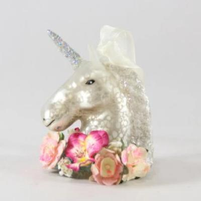 Electric Meadow Unicorn Ornament - the unicorn store