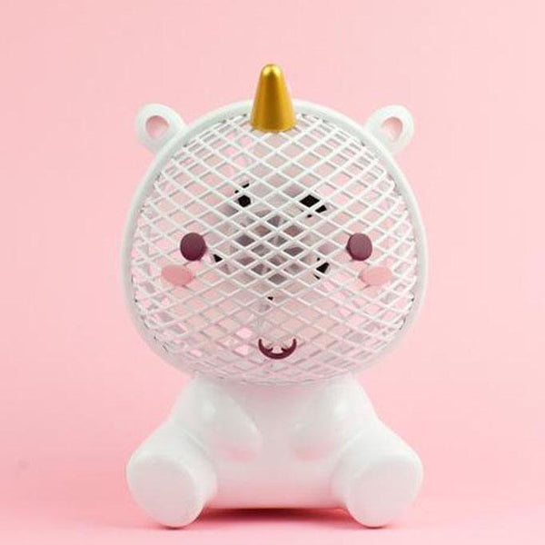 Elodie Unicorn USB Fan