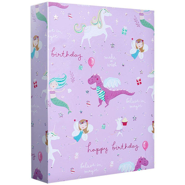 Fantastical Birthday Gift Wrap Roll