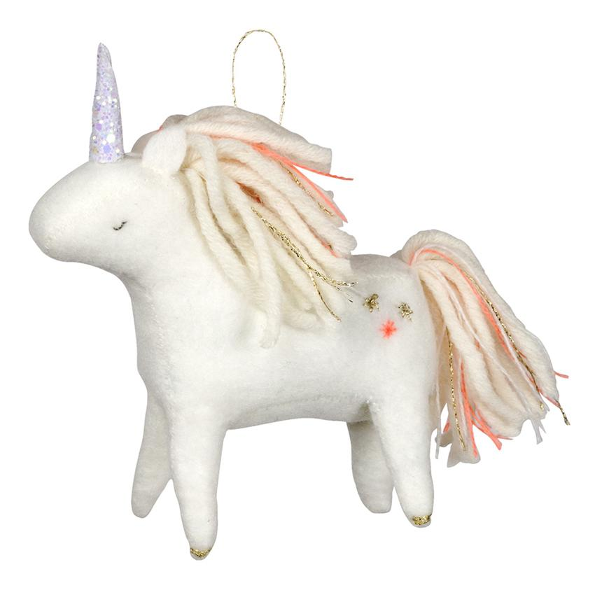 Unicorn Felt Tree Decoration