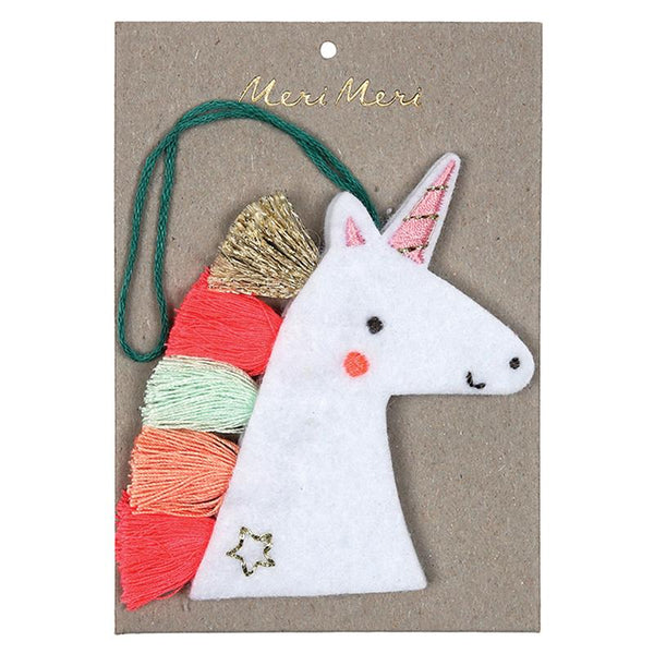 Felt Unicorn Decoration
