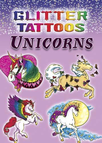 Glitter Unicorn Tattoos - the unicorn store