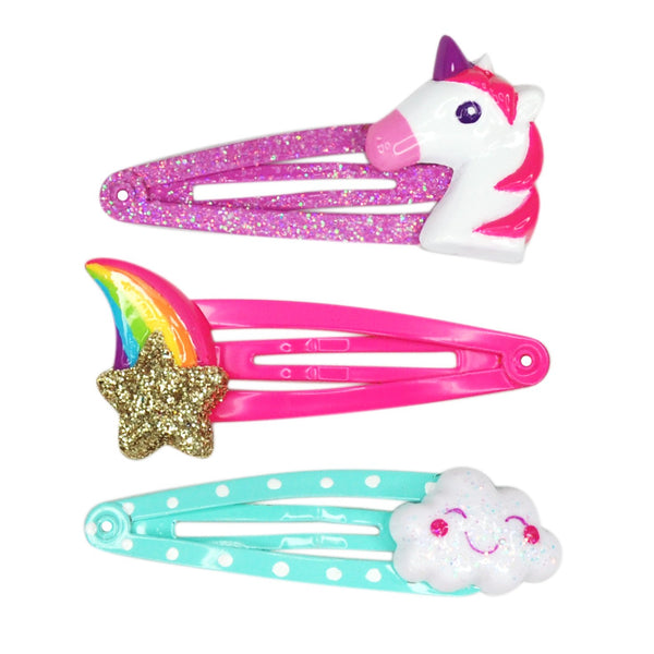 Star Cloud Unicorn Hairclips - the unicorn store