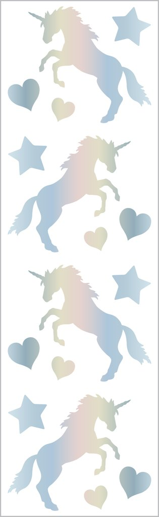Holographic Unicorn Stickers