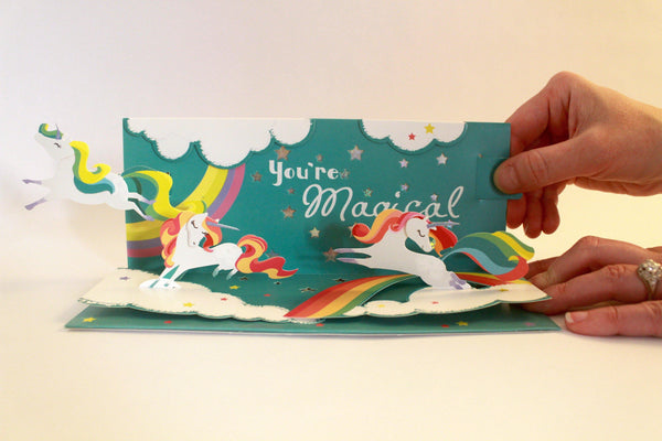 Magical 3d Pop Up Any Occasion Card