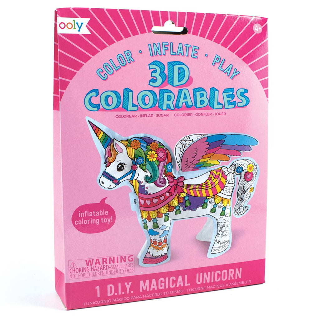 Unicorn DIY Inflatable Coloring Toy