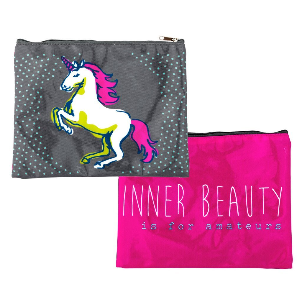 Unicorn Carry All - Inner Beauty Pouch - the unicorn store