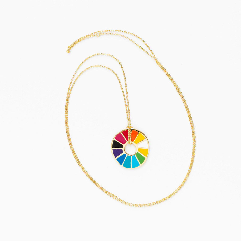 Color Wheel Pendant - the unicorn store