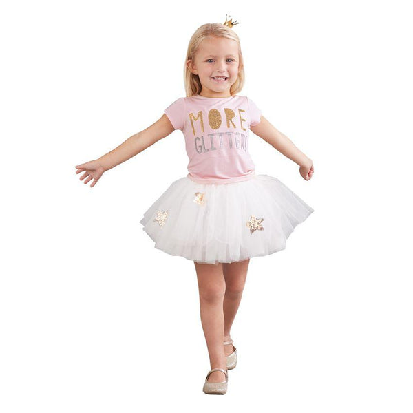 More Glitter Sequin Tutu Skirt Set
