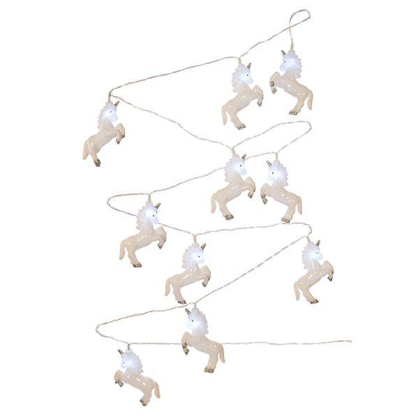 White Unicorn USB Light Set