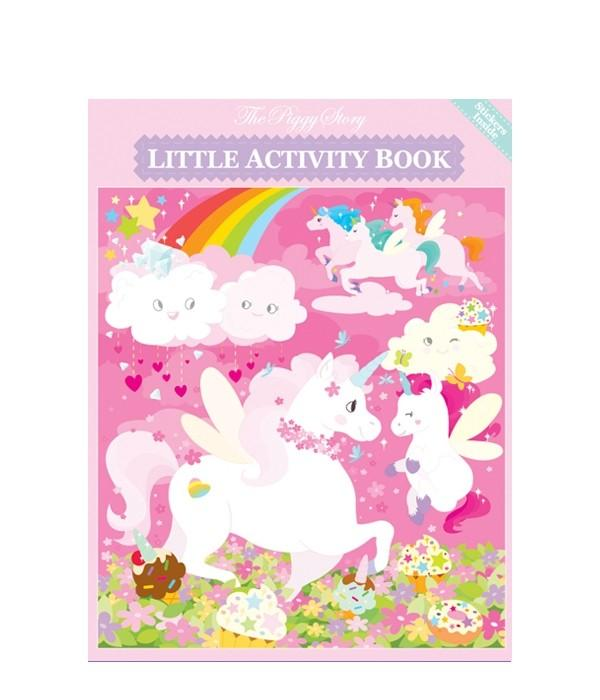 Little Activity Book - the unicorn store