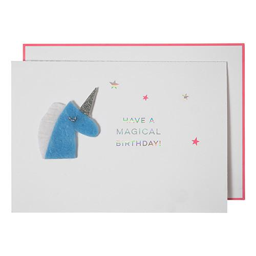 Have a Magical Birthday! - Card - the unicorn store