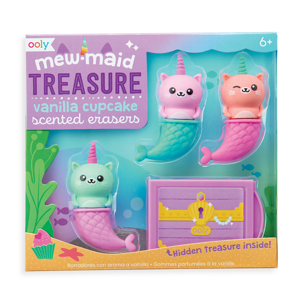 Mew-maid Treasures Scented Erasers