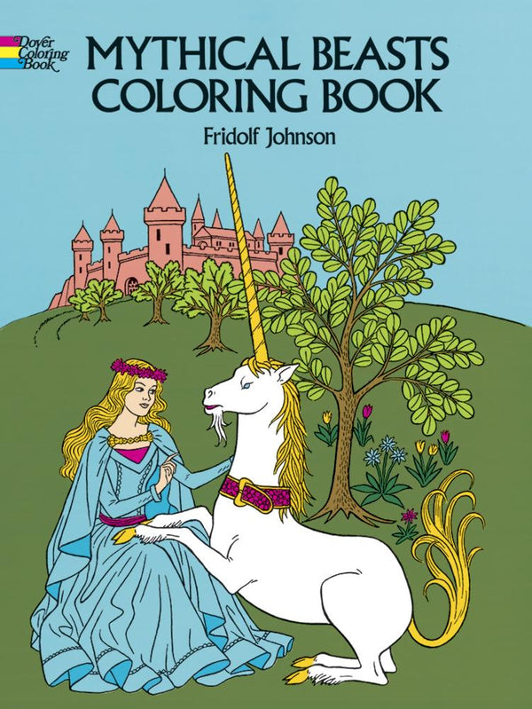 Mythical Beasts Coloring Book - the unicorn store