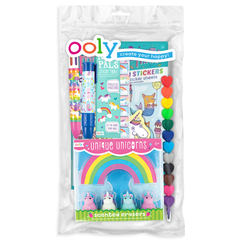 Oh My! Unicorns & Mermaids Happy Pack