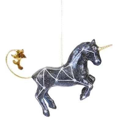 Mystic Night Sky Unicorn Ornament - the unicorn store