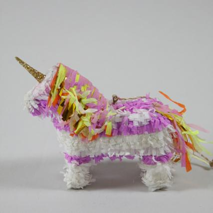 Pinata Unicorn Ornament - the unicorn store