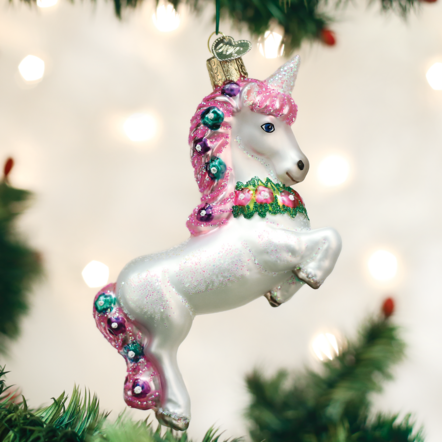 Prancing Unicorn Ornament - the unicorn store