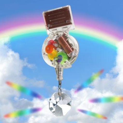 Solar Powered RainbowMaker With Swarovski Crystal - the unicorn store
